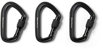 HotForge Screwgate Carabiners - Package of 3 Black Diamond
