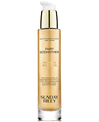 Fairy Godmother Shimmering Body Oil Gel Sunday Riley