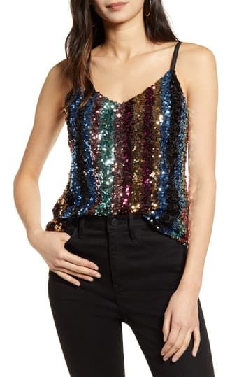 Эстония Sequin Cami Cupcakes and Cashmere