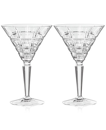 Crosby Martini, Pair Marquis by Waterford