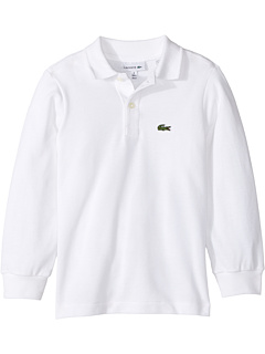 Long Sleeve Classic Pique Polo (Infant/Toddler/Little Kids/Big Kids) Lacoste Kids