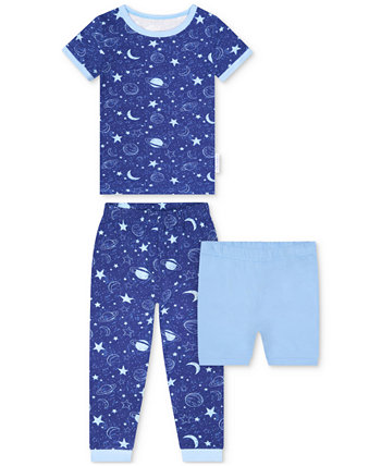 Toddler Boys 2-Piece Space-Print Pajama Set with Shorts Max & Olivia
