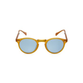 Gregory Peck 47MM Phantos Sunglasses Oliver Peoples