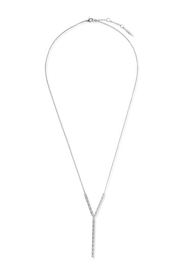 Crystal Accented Y-Necklace SOLE / SOCIETY