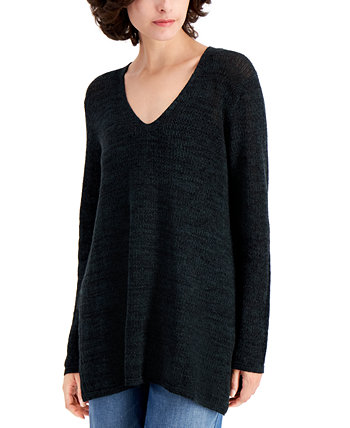 Straight V-Neck Tunic Eileen Fisher