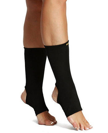 InstantFigure Powerful Compression Ankle Sleeves with Exposed Heel and Toes Instaslim