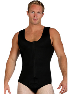 Compression Muscle Tank with Easy Zipper Closure InstantRecoveryMD
