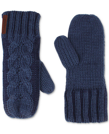 Braided Cable Mittens Timberland