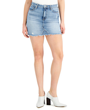 Rue Denim Mini Skirt GUESS