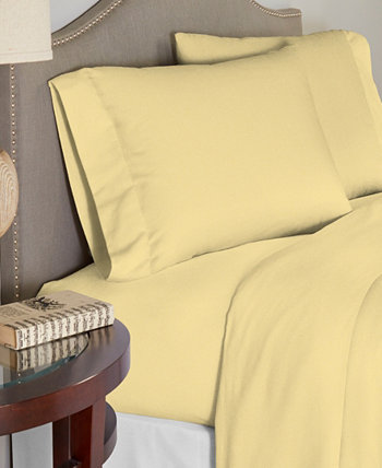 Luxury Weight Cotton Flannel Sheet Set Twin Celeste Home