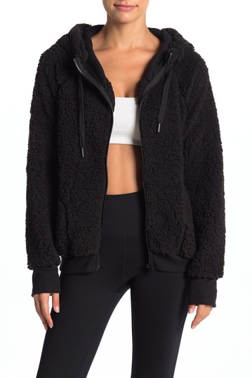 Up & Over Faux Shearling Bomber Z By Zella