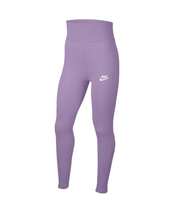 Sportswear Big Girl's High-Waist Leggings Nike