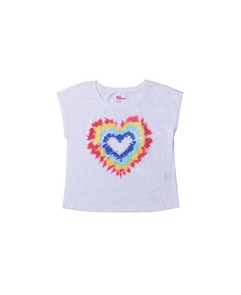 Big Girls Short Sleeve Crop Graphic Tee Epic Threads