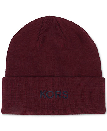 Men's KORS Embroidered Cuff Hat Michael Kors