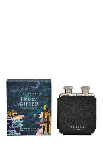 Ted's World Double Hip Flask Ted Baker