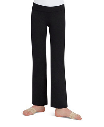 Big Girls Stretch Mid Rise Jazz Pant Capezio