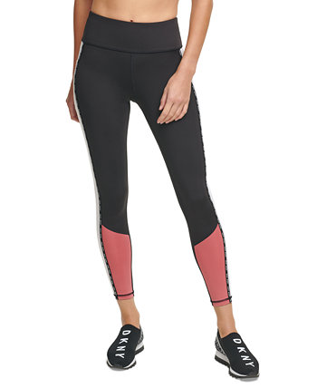 Sport Colorblocked High-Waist Leggings DKNY