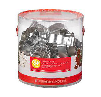 18-Pc. Holiday Cookie Cutter Set Wilton