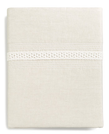 Madison Hemstitch Queen Flat Sheet, Created for Macy's Hotel Collection