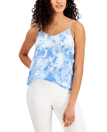 Petite Printed V-Neck Camisole, Created for Macy's Style & Co