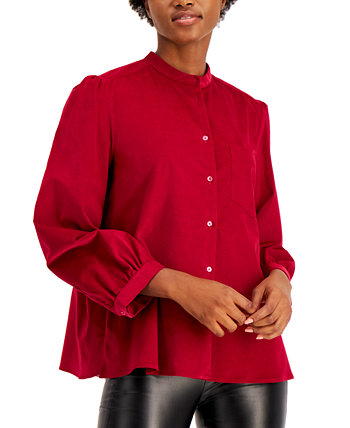 Banded-Neck Lemma Blouse Weekend Max Mara