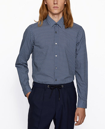 BOSS Men's Lukas Regular-Fit Shirt BOSS Hugo Boss