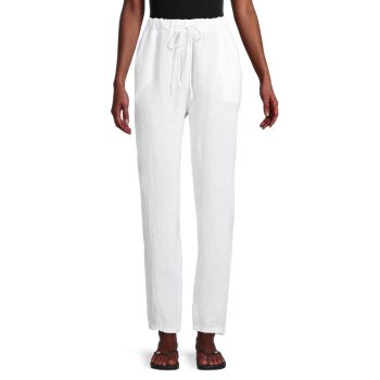 Drawstring Linen Pants Saks Fifth Avenue