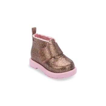 Baby's Faux Fur-Lined Booties Mini Melissa