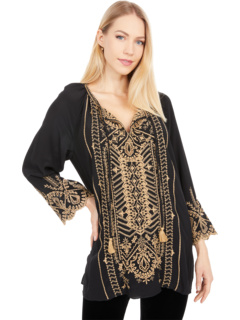 Luana Peasant Blouse Johnny Was