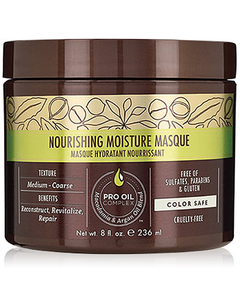 Nourishing Moisture Masque, 8-oz., from PUREBEAUTY Salon & Spa Macadamia