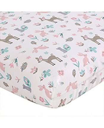 Baby Everly Crib Fitted Sheet Levtex