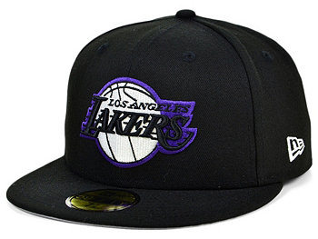 Los Angeles Lakers Court Banner 59FIFTY Cap New Era