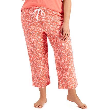 Cotton Cropped Pajama Pants, Created for Macy's Charter Club