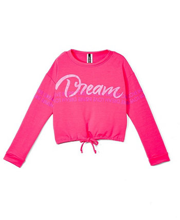 Big Girls Dream Long Sleeve Crew Neck Top One Step Up