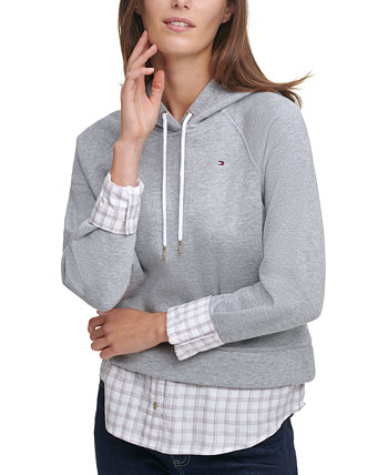Layered Pullover Hoodie Tommy Hilfiger