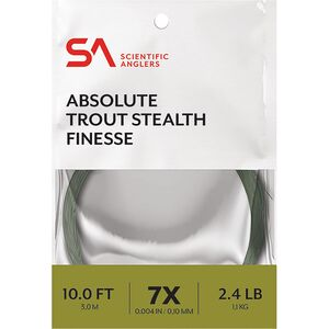 Scientific Anglers 10ft Absolute Trout Finesse Leader Scientific Anglers