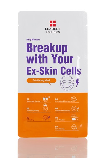 Daily Wonders Breakup with Your Ex-Skin Cells Mask - Set of 10 Leaders Cosmetics