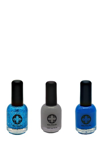 3-Piece Nail Polish Set - Midnight Sky Glamour Status