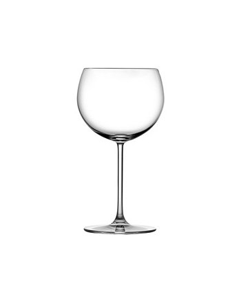 Vintage-Like Bourgogne White Glass, Set of 2 Nude Glass