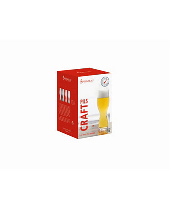 12.8 Oz Pilsner Glass Set of 4 Spiegelau