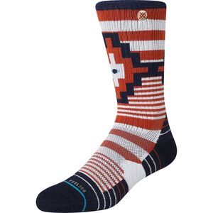 Stance Wallach Crew Silver Sock Stance