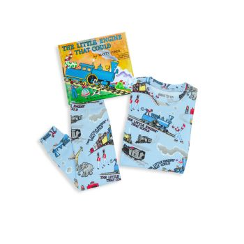 Little Boy's & Boy's Little Engine 3-Piece Pajama & Book Set BOOKS TO BED