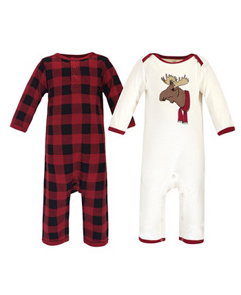 Baby Boys and Girls Family Holiday Pajamas Touched by Nature