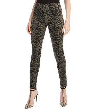 I.N.C. International Concepts Petite Animal-Print Skinny Pants, Created for Macy's INC International Concepts