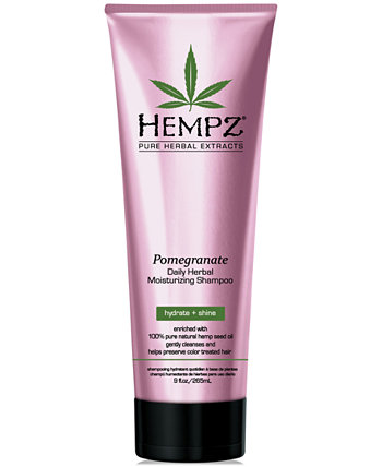 Pomegranate Herbal Shampoo, 9-oz., from PUREBEAUTY Salon & Spa Hempz