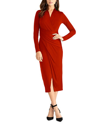 Solid Bret Jersey Midi Dress RACHEL Rachel Roy