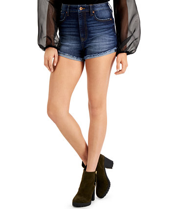 Juniors' Ultra-High-Rise Curvy-Fit Jean Shorts KENDALL + KYLIE