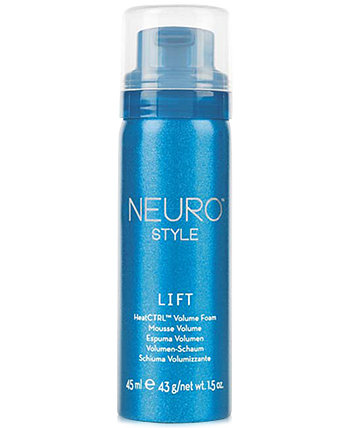Neuro Style Lift HeatCTRL Volume Foam, 1.5-oz., from PUREBEAUTY Salon & Spa PAUL MITCHELL