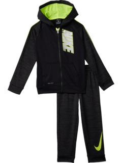 Therma Pop Zip-Up Hoodie and Pants Two-Piece Set (Toddler) Nike Kids
