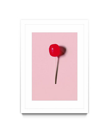 "Pop Stick Art Matted and Framed Art Print, 30"" x 40"" Giant Art"